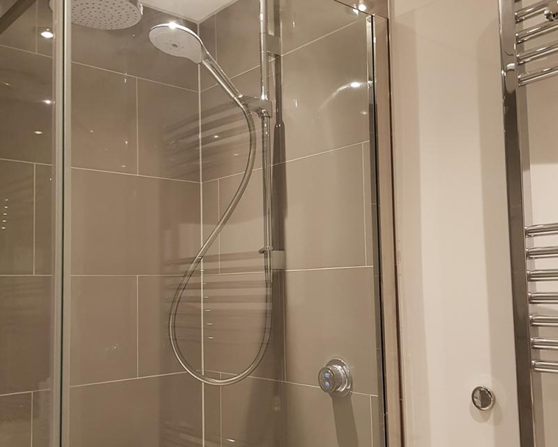 B Shower